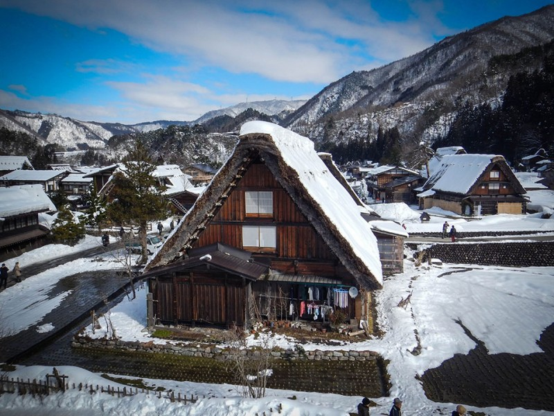 Shirakawago in the Japanese Alps